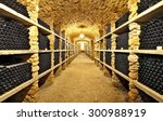 The Ancient Bottles Of Wine In...