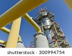 gas compressor station in... | Shutterstock . vector #300994754