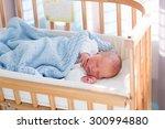 newborn baby in hospital room.... | Shutterstock . vector #300994880