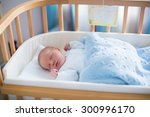 newborn baby in hospital room.... | Shutterstock . vector #300996170