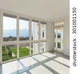 architecture  interior of a... | Shutterstock . vector #301001150