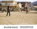 tabernas desert  almeria  spain ...   Shutterstock . vector #301005533