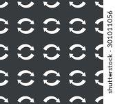 white image of exchange symbol... | Shutterstock .eps vector #301011056
