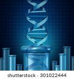 dna testing and genetic... | Shutterstock . vector #301022444