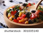 Mexican Vegetable Salad With...