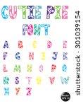 Cutie Pie Font.