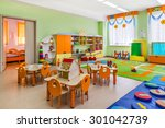 kindergarten  game room. | Shutterstock . vector #301042739