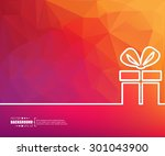 abstract creative concept... | Shutterstock .eps vector #301043900