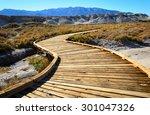 Boardwalk At Death Valley...