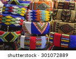 local craft market in south... | Shutterstock . vector #301072889