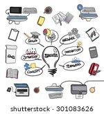 digitally generated success... | Shutterstock .eps vector #301083626