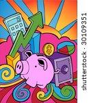 banking cartoon   Shutterstock . vector #30109351