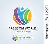 Freedom World Vector Logo...