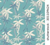 seamless pattern with... | Shutterstock .eps vector #301109624