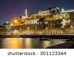 view of the old city of jaffa... | Shutterstock . vector #301123364