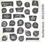modern badges collection | Shutterstock .eps vector #301125350