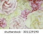 Horizontal Flower Paper Weddin...