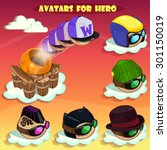 game cartoon icons design