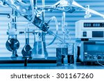 physical chemistry laboratory... | Shutterstock . vector #301167260