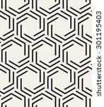 vector seamless pattern. modern ... | Shutterstock .eps vector #301195403