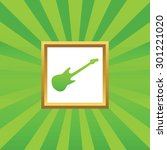 image of electric guitar in...