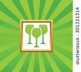 image of three wine glasses in...