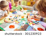 block  boy  caucasian. | Shutterstock . vector #301230923