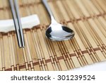 Metal Spoon And Chopsticks Ove...