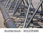 communication steel piping... | Shutterstock . vector #301239680
