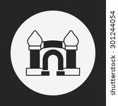 castle icon | Shutterstock .eps vector #301244054