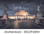 Castel Santangelo In Rome