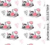 business card template for make ... | Shutterstock .eps vector #301337849