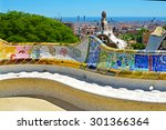 Park Guell By Architect Antoni...