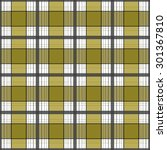 seamless retro textile tartan...   Shutterstock . vector #301367810