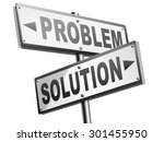 problem solution searching...   Shutterstock . vector #301455950