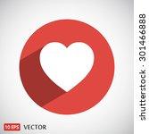 heart | Shutterstock .eps vector #301466888