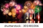 Colorful Fireworks. Fireworks...