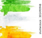 indian flag for indian... | Shutterstock .eps vector #301490948