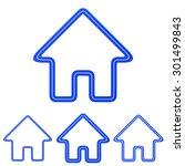 blue line homepage logo design...