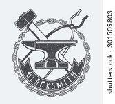 blacksmith | Shutterstock .eps vector #301509803
