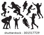 vector american football... | Shutterstock .eps vector #301517729