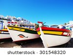 Fishing Boats On The Beach ...