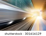 high speed train | Shutterstock . vector #301616129
