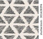 hand drawn seamless pattern...   Shutterstock .eps vector #301628396