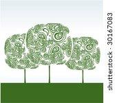 tree | Shutterstock .eps vector #30167083