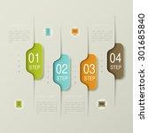 business infographics. | Shutterstock .eps vector #301685840