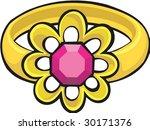 ring details | Shutterstock .eps vector #30171376