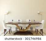 Modern Dining Room Interior.3d...