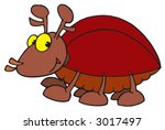 horned bug | Shutterstock .eps vector #3017497