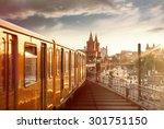 berlin   oberbaumbr  cke | Shutterstock . vector #301751150